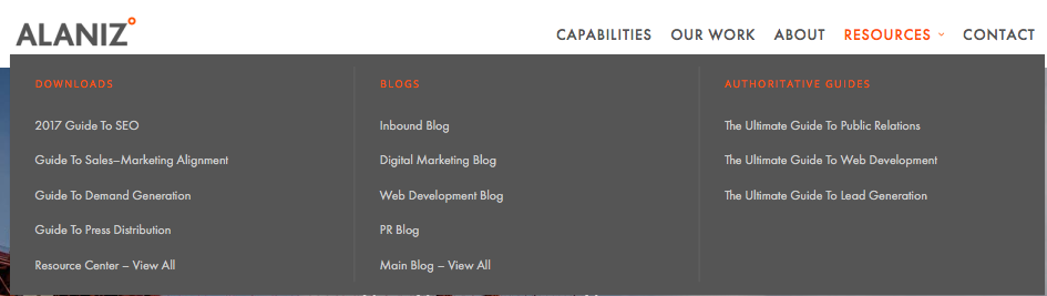 topic cluster pillar page